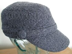d791aa8a564 Grey Newsboy Hat for Women grey cap with by ... News Boy Hat