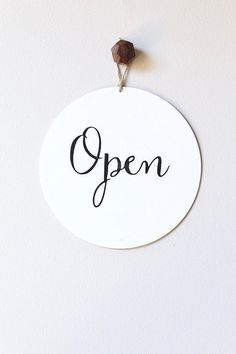 Open closed business sign, custom sign, store sign, window s Open Signs, Now Open Sign, Shopping Quotes, Window Signs, Office Signs, Business Signs, Small Business Quotes, Instagram Highlight Icons, Store Signs