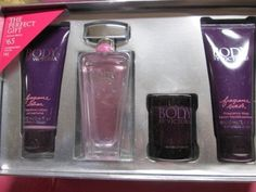 Victorias Secret Body By Victoria 4 Piece Gift SetLotion Perfume Wash and Scented Candle Valued at 91 >>> Details can be found by clicking on the image.