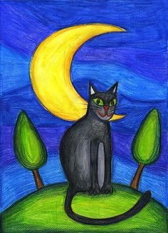 under the moon by ewung, via Flickr
