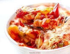 Gnocchi, Mozzarella, Shrimp, Lunch, Meat, Food, Eat Lunch, Essen, Meals