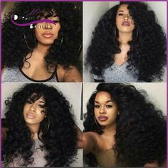 97.92$  Buy now - http://ali76a.worldwells.pw/go.php?t=32759926222 - 7A 180 Density Curly Human Hair wigs Full Lace human hair Wigs for Black Women Cheap Glueless Lace front human hair Wigs 97.92$