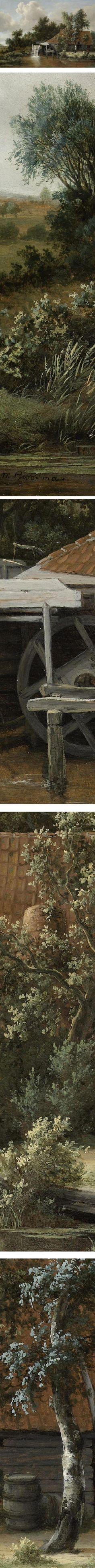 Eye Candy for Today: Meindert Hobbema watermill