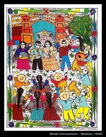 Boda a la mexicana. Mariachis, tequila y charros.*