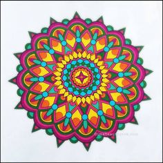 Image result for finished pattern colouring