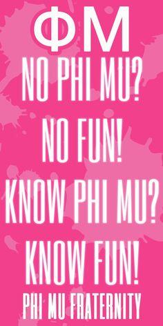 Peace, love, Phi Mu <3