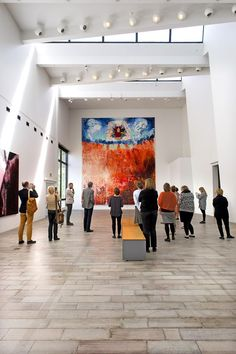 The Last Judgment is a synthesis of Heikki Marila career so far. It has a lot of elements, which are in earlier paintings, and it may be the greatest in Finland exhibited the painting at the moment, curator Timo Valjakka says.