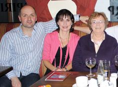 Enya, her brother Bartley and mum Baba in the family pub at Meenaleck, Donegal, May 2010. Photo by Maighread Hanlon.