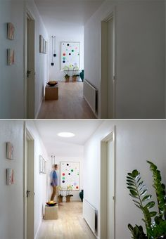 Looking for ways to brighten up your #hallway? With a VELUX #Suntunnel, you can actually save money, using daylight instead of lamps. Even if the sun doesn't shine, your hallway will be floating in light.
