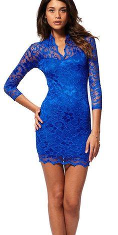 John Zack, Sophisticated Lace V-Neck Dress, Mini Dress, Cocktail Dress: Amazon.com: Clothing