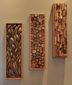 Palm Paddel, Treibholz und Holzreste is part of Wood diy - palm paddles, driftwood and wood scraps Palm Paddel, Treibholz und Holzreste Diy Casa, Scrap Wood Projects, Scrap Wood Art, Art Projects, Carpentry Projects, Outdoor Projects, Wood Scraps, Into The Woods, Driftwood Art