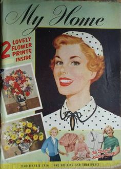 My Home magazine from April 1956