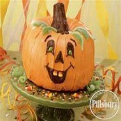 Pumpkin Patch Party Cake from Pillsbury® Baking