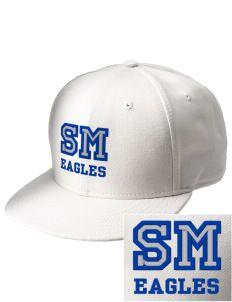 Saint Mary School Eagles  Embroidered New Era Flat Bill Snapback Cap