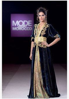 caftan marocain cr ation ahlem tlemcen maroc cocktail princesse evening dress class. Black Bedroom Furniture Sets. Home Design Ideas