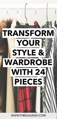 How To Dress   Wardrobe Basics   How To Be More Stylish
