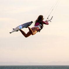 #MarieSwitala #Kitesurf #Girls