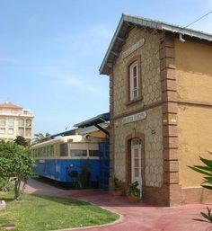 ferrobus, estación Rincón de la Victoria.