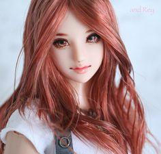 "★ and Rey ★ 1/6 custom doll head ""Kazusa"""