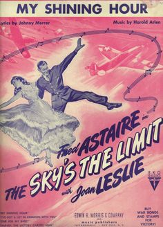 Vintage Fred Astaire Sheet Music by JaKellsUniqueBoutiqu on Etsy, $15.00