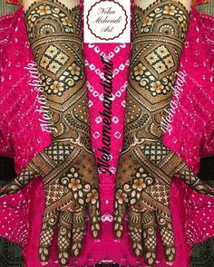 Wish you had a pool of never seen before to flaunt? Look no more and start bookmarking these images for some quick inspiration and for serving some GOALS! Arabic Bridal Mehndi Designs, Engagement Mehndi Designs, Wedding Henna Designs, Full Hand Mehndi Designs, Mehndi Designs For Girls, Mehndi Designs 2018, Dulhan Mehndi Designs, Mehndi Design Pictures, Mehandi Designs