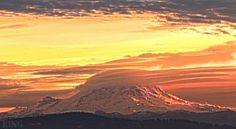 Mt Rainier. 12/11/13.