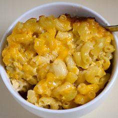 Three-Cheese Baked Macaroni