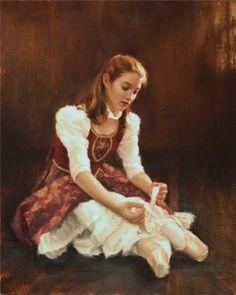 Impressioni Artistiche : ~ Todd A. Decoupage, She's A Lady, Ballet School, Central City, Dance Art, Vintage Prints, Retro Fashion, Disney Characters, Fictional Characters