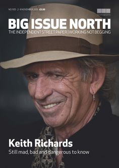 Magazine available from November 2-8 2015 throughout the north of England. More info on our website: www.bigissuenorth.com.