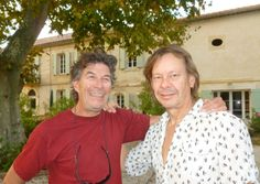 Bernard Balet and Tony Spit transformed a ruined farmhouse into a thriving gîte business in Bouches-du-Rhône in Provence