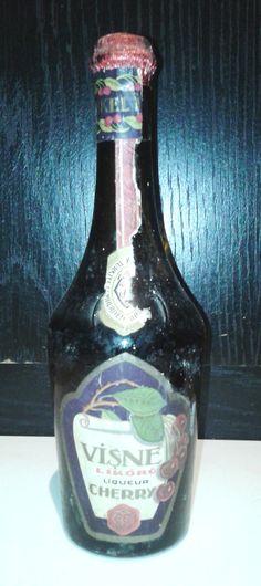 İnhisarlar Vişne likör şişesi,50cl