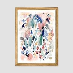 "These springtime-inspired, watercolor prints by artist Sara Berrenson comes to us from our collaboration with Minted, a community of independent designers and artists. • Created in collaboration with Minted.com. Learn more. • 16""w x …"