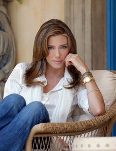 Sylvester Stallone Wife, Jennifer Flavin, Celebrity Beauty, Michael Kors Watch, Girl Power, Supermodels, Your Hair, Fashion Beauty, Glamour
