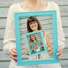 Fête des grands-mères 2016: le cadre photo maison