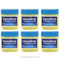 6x50g BEAUTY VASELINE PURE PETROLEUM JELLY INTENSIVE LIPS SKIN BABY Care  Price:US $23.99  http://www.ebay.com/itm/162092996614  #ebay #Thailandfantastic #Paypal #Health #Beauty #Skin #Care #Lightening #Cream #SkinCare #LighteningCream #VASELINE #PURE #PETROLEUM #JELLY #INTENSIVE #LIPS #BABY
