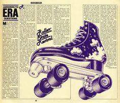 roller skate revival - roller derby