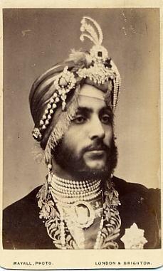 Maharaja Duleep Singh in exile n London