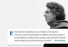 Galería de Frases: Mario Botta y el deber de la arquitectura - 1