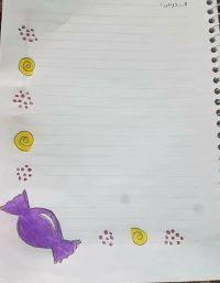 صور تزيين كراسات أطفال أجمل الرسومات على الدفتر المدرسي بالعربي نتعلم Page Decoration Baby Mobile Decor