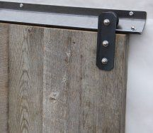 Barn doors today are becoming part of interior decoration in many houses because they are stylish. When building a barn door on your own, barn door hardware kit Sliding Wood Doors, Sliding Door Track, Barn Door Track, Diy Barn Door, Bypass Barn Door Hardware, Barn Door Handles, Sliding Barn Door Hardware, Window Hardware, Barn Door Designs