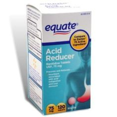 I'm learning all about Equate Acid Reducer Non-Prescription Strength Ranitidine Compare To Zantac 75 mg at @Influenster!