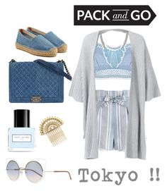 """""""At the Airport."""" by emi-the-queen ❤ liked on Polyvore featuring Zimmermann, Lipsy, Eskandar, Castañer, John Lewis, Marc Jacobs, tokyo and Packandgo"""