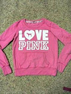 Victoria's Secret PINK pink sweatshirt