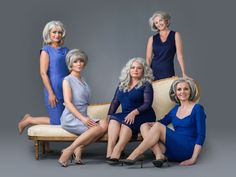 These Women Prove Going Gray Can Be Truly Glamorous - GoodHousekeeping.com