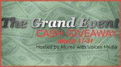 March Grand Event   **Grand Event Winner Announcement** Congratulations to all!  1. Melissa B  2. Denise T   3. Jeanette M  4. Eric K  5. Deb R  6. Deb S  7. James V