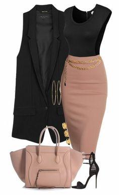 black and blush
