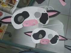 Pretty Much Nuts: National Cow Appreciation Day at Chick Fil A Celebration: Cow Mask Tutorial