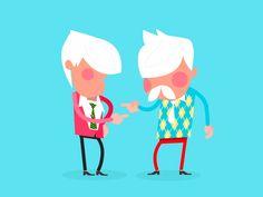 Handshake animation for explainer video infographics.  contacts: Website l Behance l Facebook l Twitter l Vimeo l LinkedIn