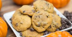 These cookies are soft, fluffy and oh-so-yummy! They're the perfect treat to bring to a fall party.