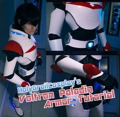 """sexythewalkingcatfish: """" I've gotten a lot of questions about how i did my Voltron paladin armor, so I decided to just make one big walkthrough of my process for anyone that might want to see it, complete with links to all the online resources I used..."""